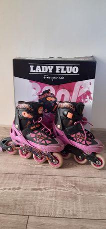 Rolki, Lady Fluo