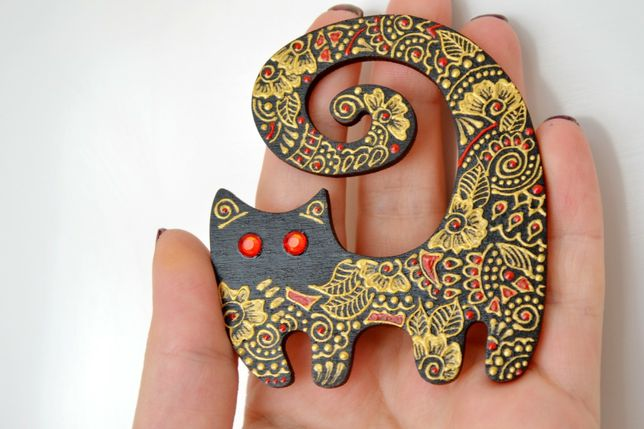 Магнит сувенир кот кіт подарок