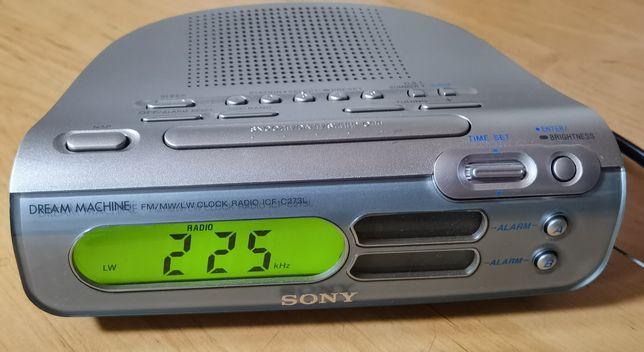 Sony ICF C273L radio radiobudzik 2xalarm wysyłka 12zł