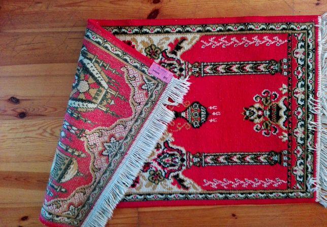 Dywanik, kilim turecki jasna czerwień stan dobry 130/ 66