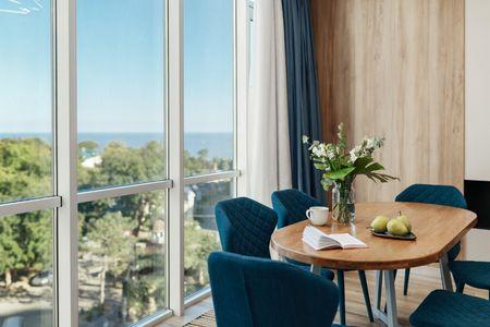 Сдам Свой Стильный Апартамент Панорама моря 2 спальни в Аркадии