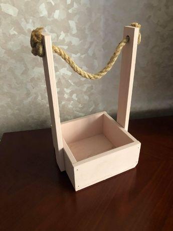 Подарочная корзинка, коробка для цветов и сладостей, кашпо, декор