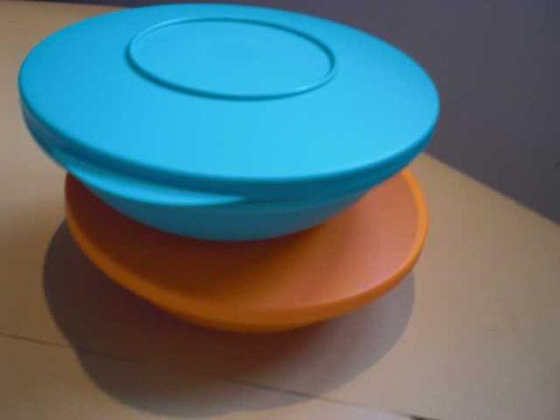 Taças/pratos  com tampa
