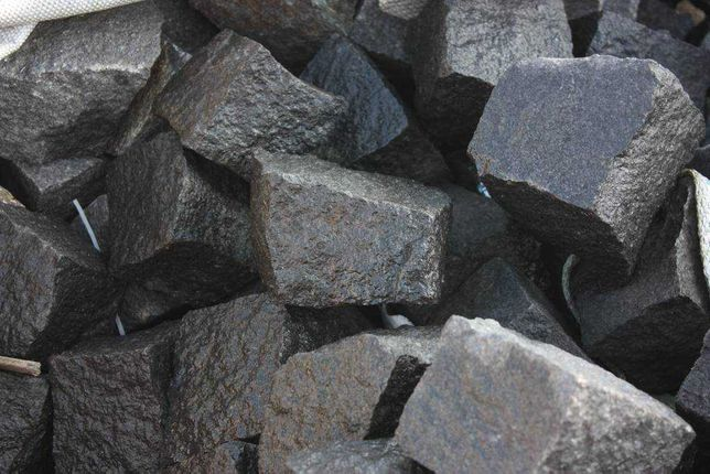 Kostka granitowa czarna kostki granit kostka brukowa