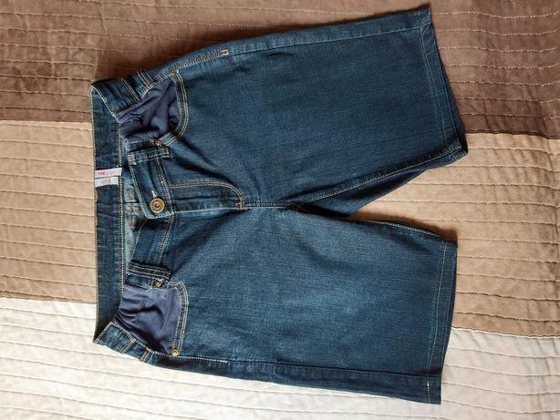 Krótkie spodenki ciążowe jeans rozmiar L