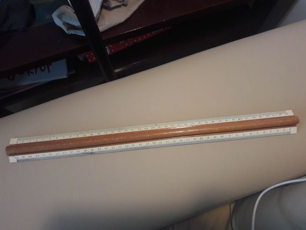 linijka 40 cm drewniana