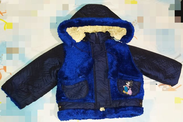 Курточка теплая на мальчика