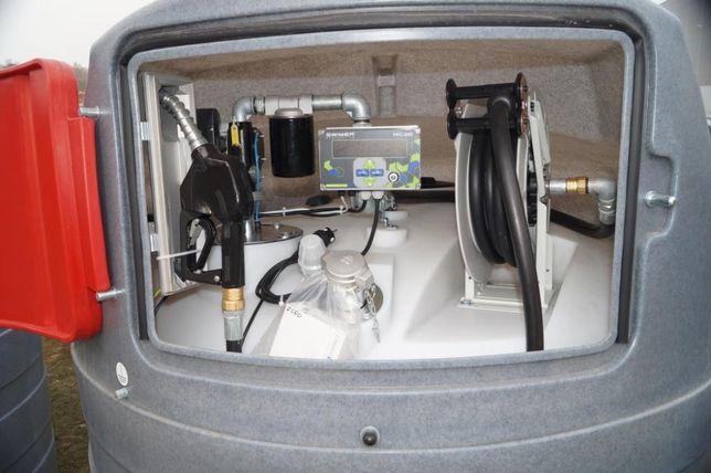 SKIERNIEWICE Zbiornik dwupłaszczowy na paliwo SWIMER 2500 l ON Diesel