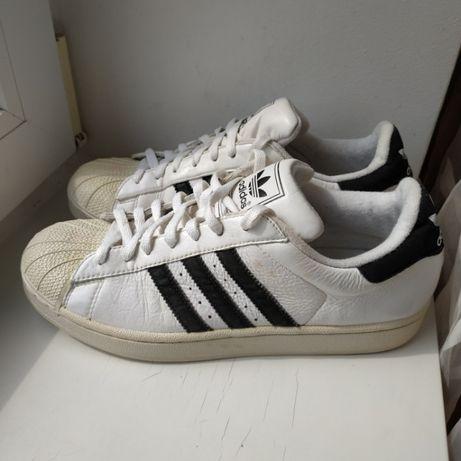 Кожаные кроссовки кеды шузы Adidas 43,5р. 27.5 см