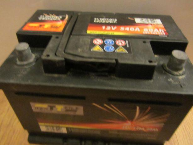 Akumulator rozruchowy WertTeile 60Ah 540A Prawy plus 12V
