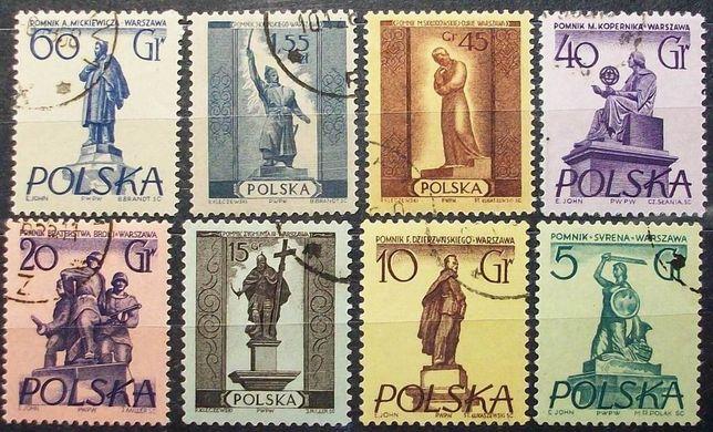 Znaczki polskie Fi 761; 773; 778; 802