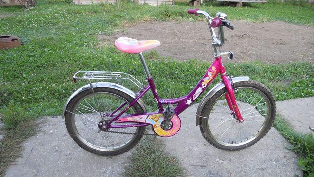 Продам дитячий двоколісний велосипед Mustang Winx 20