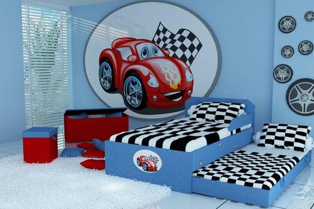 Łóżko piętrowe dla dzieci, dowolna kolorystyka, materace w zestawie