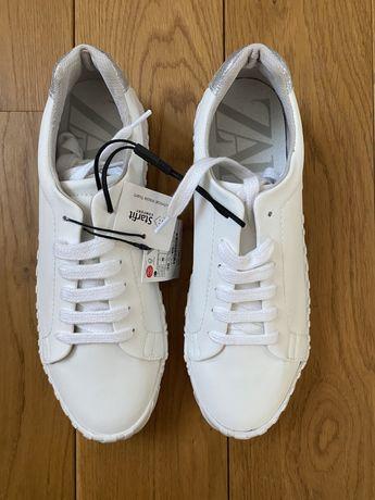 Nowe białe trampki Zara 38 37