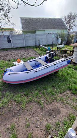 Продам новую килевую моторную лодку Energy N-280 НДНД.