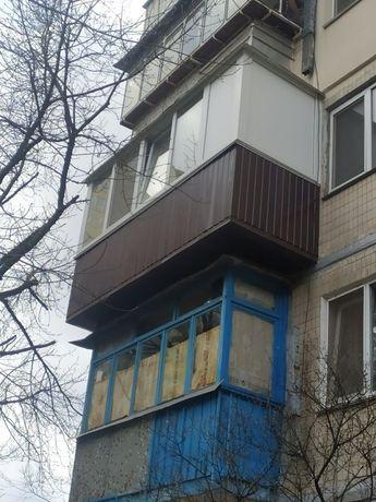 Установка балконов, под ключ. Ремонт, регулировка окон и дверей.