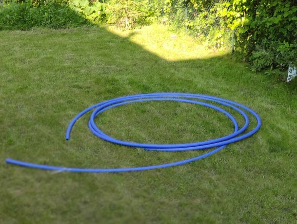 Rura PE niebieska wody