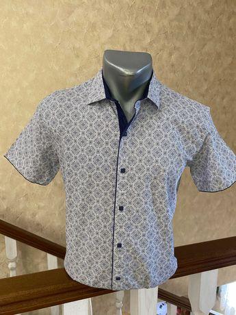Мужская рубашка сорочка тениска