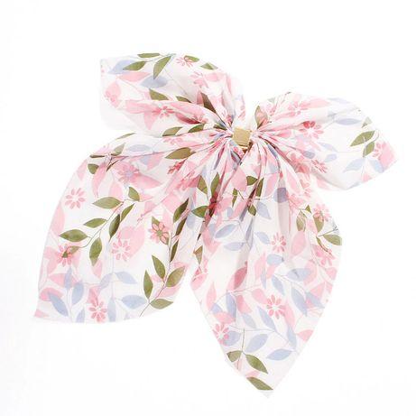 NOWA śliczna gumka wstążka kucyk elegancka kwiatki vitage