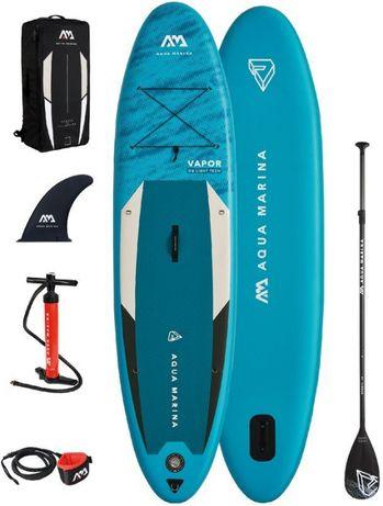 NOWA Pompowana deska SUP do pływania Aqua Marina VAPOR 3,15 m 140 kg