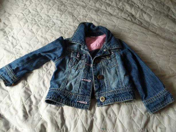 Kurtka bluza jeansowa 86-92