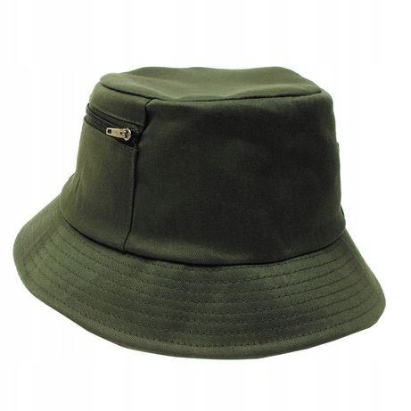czapka wędkarska oliwkowa firmy MFH Niemcy