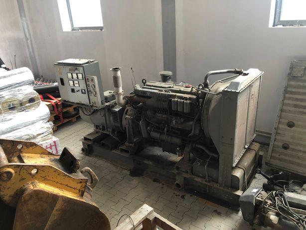 Agregat prądotwórczy - Silnik Jelcz SW680 turbo + prądnica A280