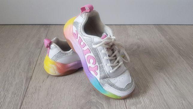 juicy couture tenisówki, adidasy, rozm 30, tęcza, tęczowe buty