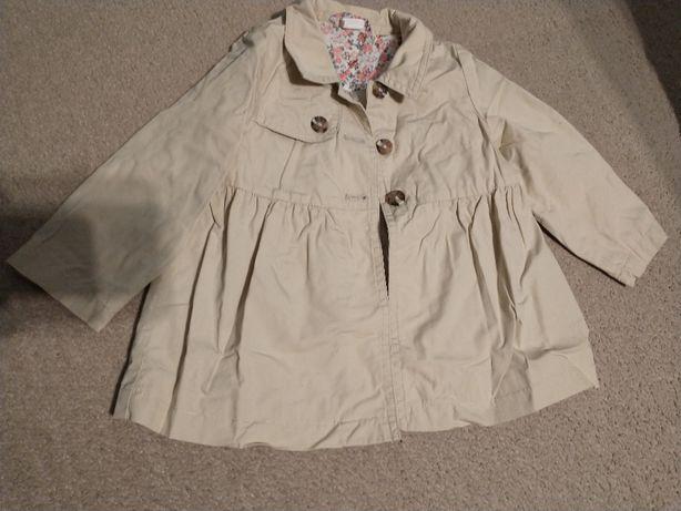 Płaszcz wiosna jesień H&M 92