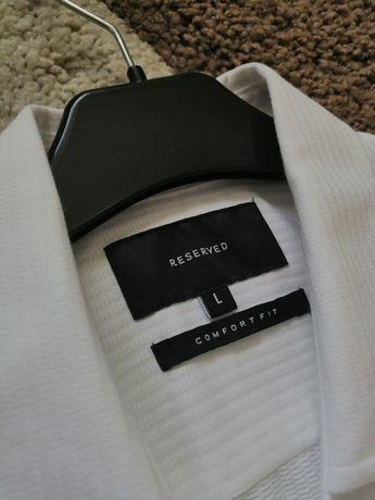 Koszula Biała Reserved L nie Tommy Ralph lacoste