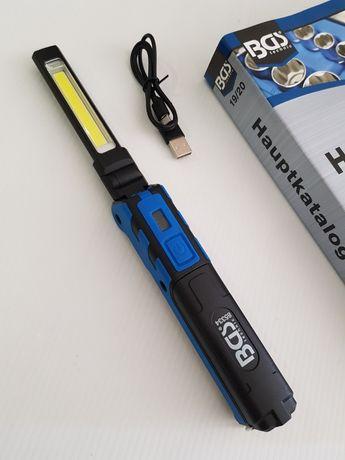 Lanterna / Gambiarra Bateria PRO / COB LED - BGS Germany PROMOÇÃO