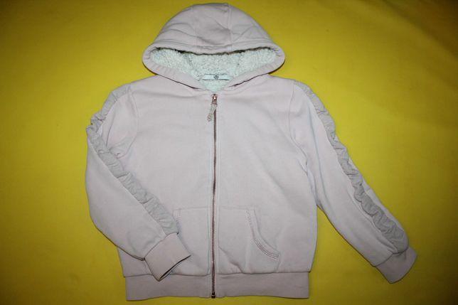 Куртка худи толстовка демисезонная стильная на 6-8лет супер состояние