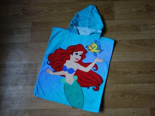 Полотенце пончо Disney для девочки