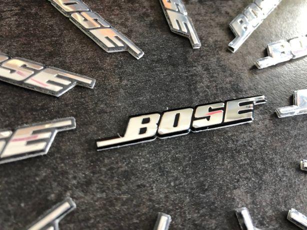 BOSE - naklejka, emblemat - aluminium, znaczek, logo