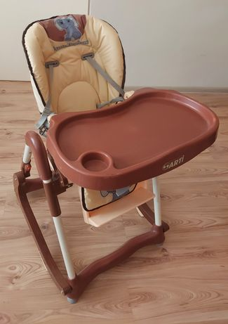 Krzesełko do karmienia 2w1 Arti Modern Little Elephant