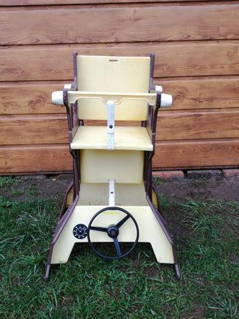 Krzesełko do karmienia bujak 2w1