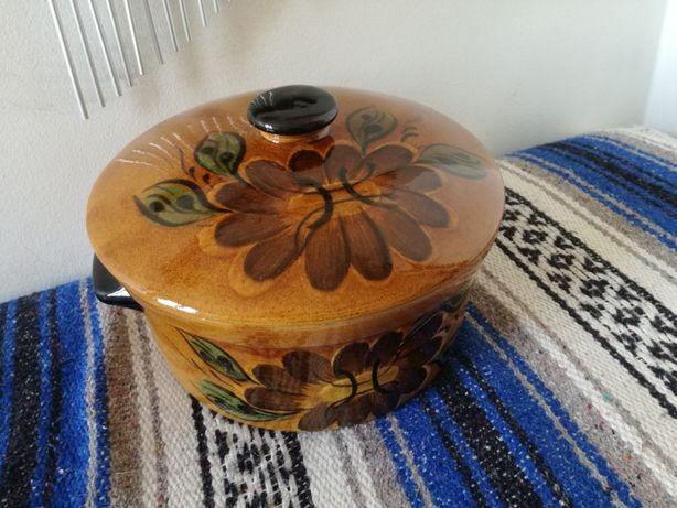 Panela em cerâmica (pode ir ao forno)