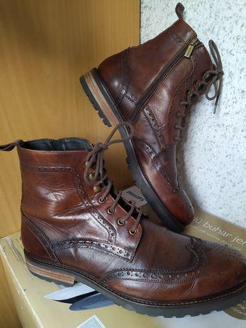 Итальянские кожаные ботинки от Del Re р.45 (UK11-12) Le Silla Vero