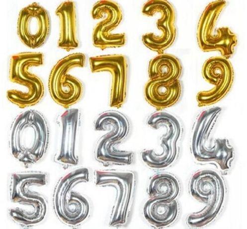 Цифры 40 см(фольгированные шары, шарики, фотозона, декор)