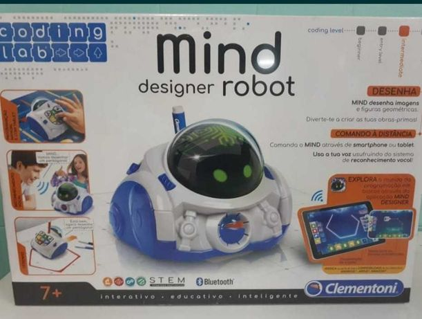 Robot Interativo Bluetooth Mind Designer Clementoni Novo