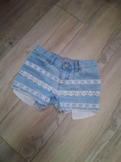 Модные шорты на девочку 6-8 лет