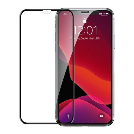 Iphone X XS 11 PRO XR 7 8 Szkło hartowane 9h na cały ekran 5D FullGlue