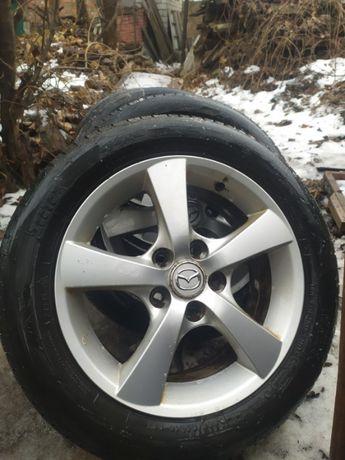 Диски резина зима Mazda 6 R-16 114.3 205/55
