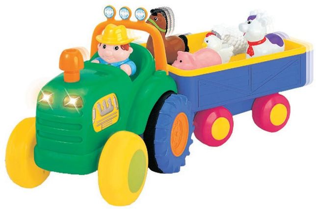 Dumel Traktor Farmer nowy