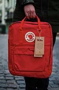 Рюкзак Fjallraven Kanken Classic Канкен  Красный для школы  из ЕВРОПЫ