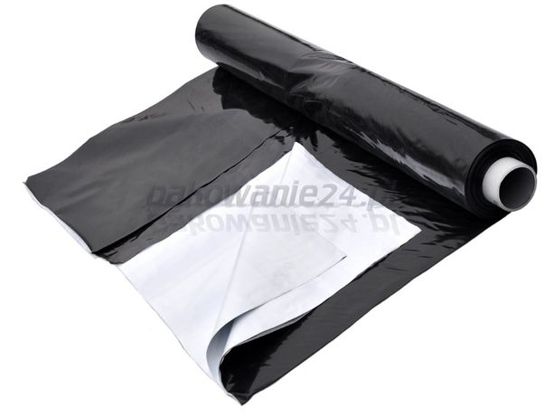 FOLIA do kiszonek czarno-biała 110 µm/na pryzmy/8x33m