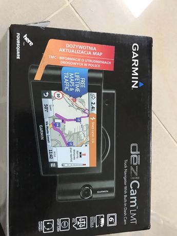 Nawigacja Garmin DezlCam LTM  6'1 idelana do ciezarowki i dostawczaka