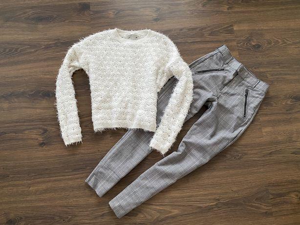 Костюм Свитшот свитер велюр джинсы брюки кофточка гольф 42 с s