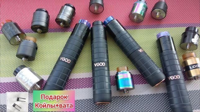 МехМод VGOD PRO 2 +Дрипка на выбор (Электронная сигарета) Вейп