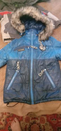 Зимняя куртка 2в1